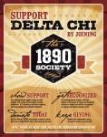 1890 Society flyer